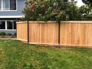 fence construction by pacific home maintenance, monroe general contractor
