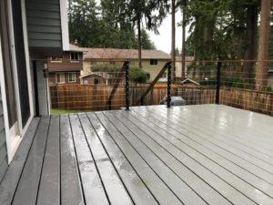 Why We Recommend Composite Decking in the Pacific Northwest